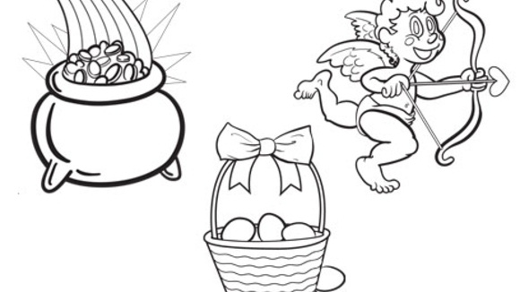 all holidays occasions coloring pages