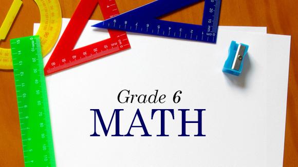 Grade 6 Math - Grandparents.com