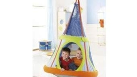 A play tent is essential for any fully loaded playroom and with a special swinging feature this one is the utmost in fun. The Swinging Tent Cavern is just ...  sc 1 st  American Grandparents Association & Haba Swinging Tent Cavern - Grandparents.com