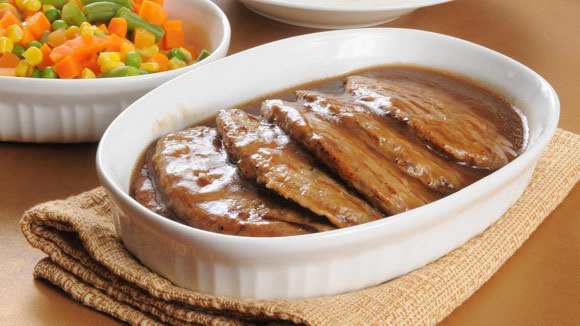 Salisbury Steak with Onion Gravy - Grandparents.com