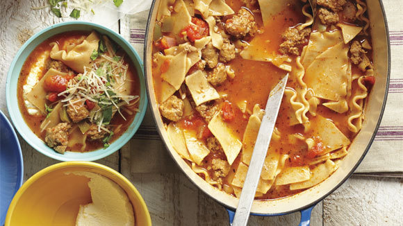 Lasagna soup for Better homes and gardens lasagna