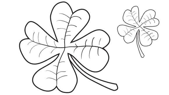 st patricks day series clover grandparentscom - Grandparentscom Coloring Pages