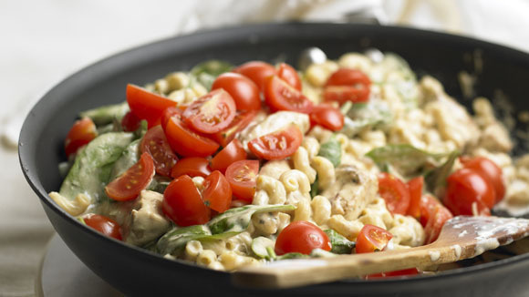 Range top chicken macaroni and cheese for Better homes and gardens mac and cheese
