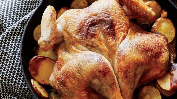 Ain't Chicken Chicken (Roast Butterflied Chicken with Orange, Cardamom ...