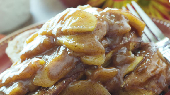 Caramel Apple Cinnamon French Toast - Grandparents.com