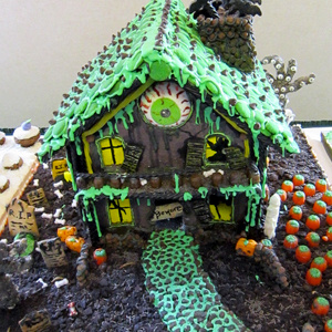 Creative gingerbread house ideas