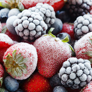 fruit blood are frozen fruits and vegetables healthy