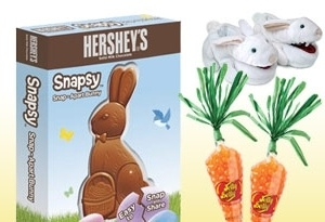 10 new gift ideas for your easter baskets grandparents the best new toys and treats for 2011 digging into an easter basket negle Choice Image