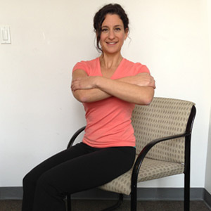 8 easy exercises you can do sitting down for Sitting easy chairs